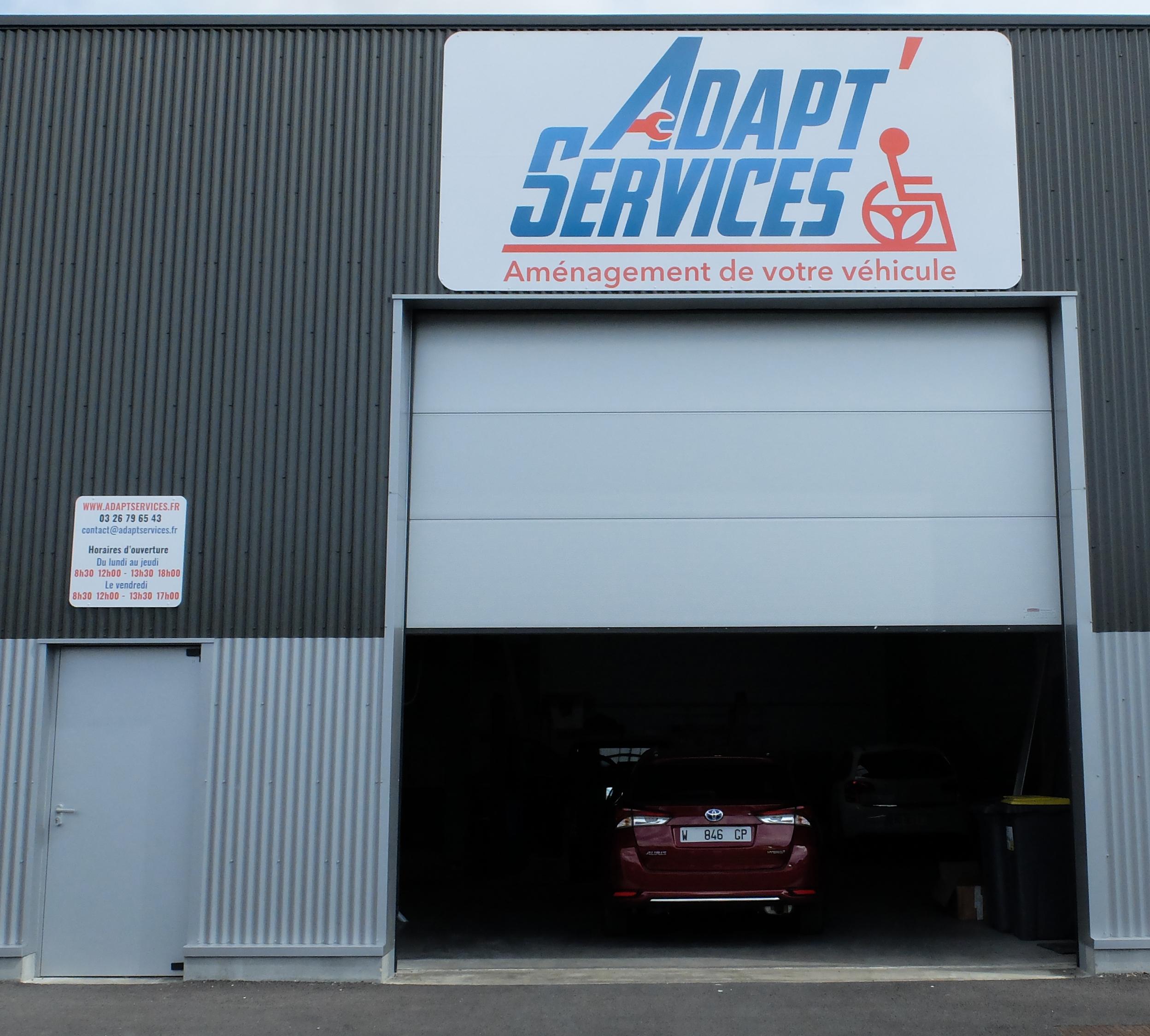 adapt'services aménagement de véhicules